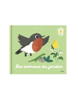 Livre Mes animaux du jardin à toucher