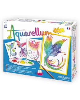 Aquarellum junior oiseaux de paradis