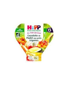 Cassolette de poulets aux petits légumes 260 g dès 15 mois