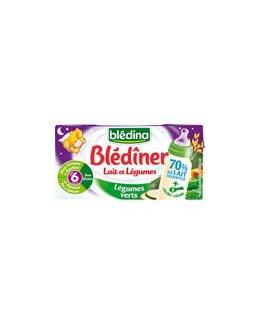 Blédîner Lait et légumes dès 6 mois (sans gluten)
