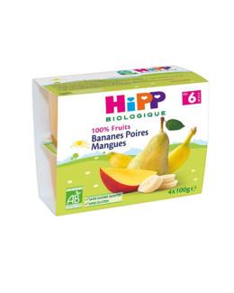 Bananes Poire Mangues - dès 6 mois