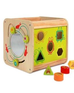 Cube d'activités bois Nature enchantée
