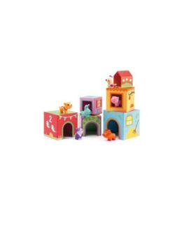 6 Cubes imagiers Topanifarm
