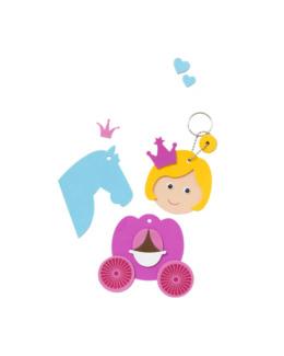 6 porte clefs Princesses à créer