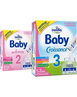 Lait Baby Croissance en dosettes