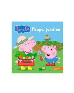 Livre Peppa Pig jardine