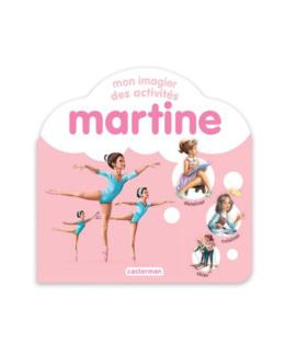 Livre Martine, Mon imagier des activités