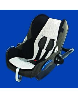 Housse protection siège auto anti-transpiration