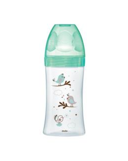 Biberon verre anti-colique INITIATION+ col large 270 ml