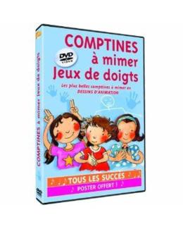 DVD Comptines à mimer : jeux de doigts