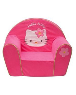 Fauteuil mousse Hello Kitty
