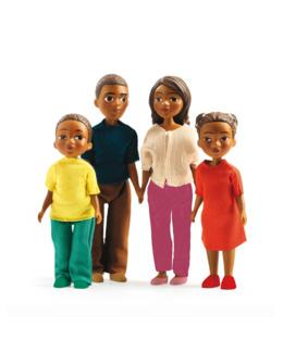 Figurines Famille - Milo et Lila