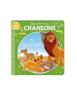 Livre Sonore le roi lion mes premières chansons