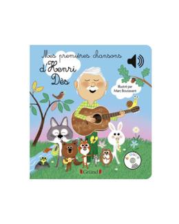 Livre Mes premières chansons d'Henri Dès