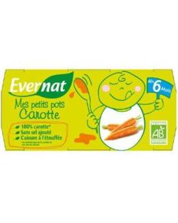 Rigolote la carotte - Petits pots Carotte 2x120g