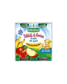 BLEDI A BOIRE Pommes bananes 2x20 cl dès 4 mois