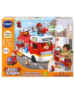 Tut Tut copains - Super camion caserne de pompiers