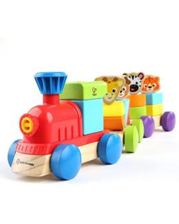 Petit train en bois découverte des animaux - E11715 Baby Einstein