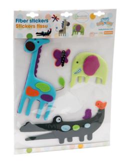 Stickers tissu - Jungle Pop