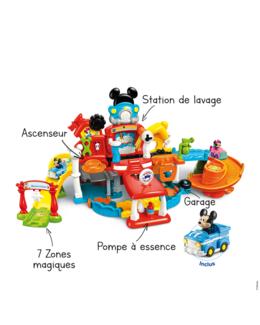 Magi-garage interactif de Mickey
