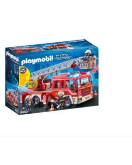 Camion de pompiers grande échelle