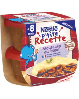 Les p'tites recettes - Moussaka de bœuf