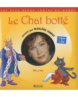 Le Chat botté  Jobert, Marlène, LIVRE + CD AUDIO