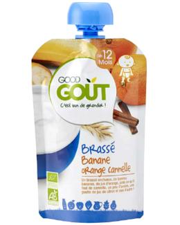 Good Gourde Brassé Banane Orange Cannelle