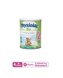 Lait Physiolac 2 Bio 900g
