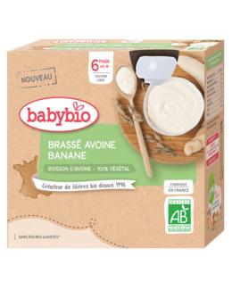 Brassé Végétal base Avoine - Banane
