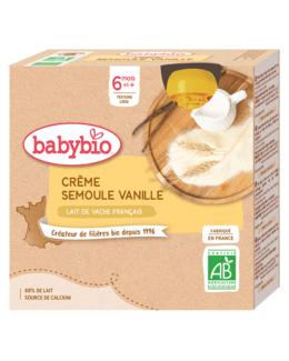 Crème Semoule - Vanille