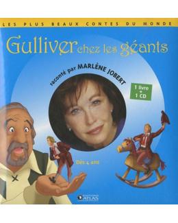Gulliver chez les géants  Jobert, Marlène, LIVRE + CD AUDIO