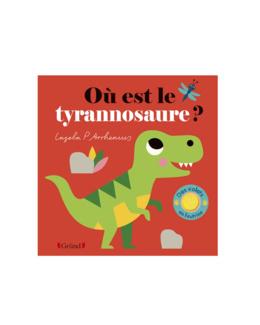 Livre Où est le tyrannosaure ?