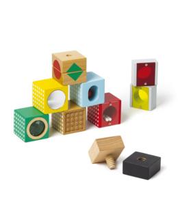 8 cubes sensoriels