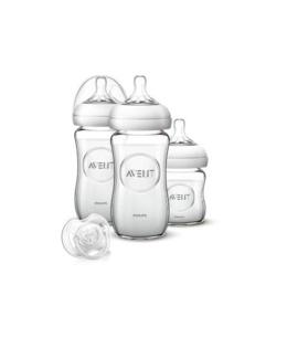 Kit nouveau-né Natural en verre