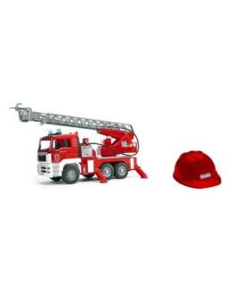 Camion de pompier avec module électronique et casque