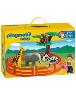 Playmobil 1.2.3 - Zoo