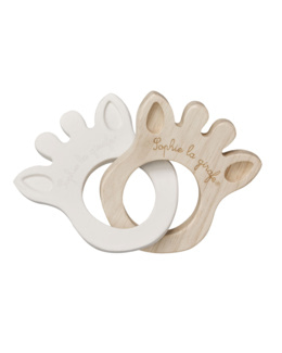 Hochet 2 anneaux silhouettes Sophie la Girafe