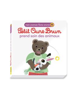 Livre Petit Ours Brun prend soin des animaux