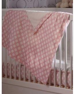 Couverture reversible bebe theme Nuages