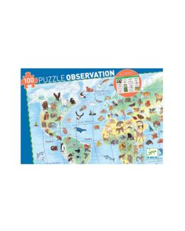 Puzzle Les Animaux du Monde 100 pièces