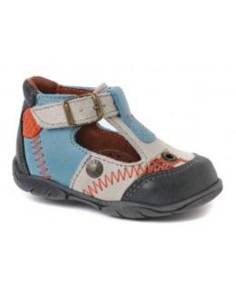Sandales montantes à boucle
