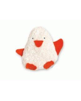 Doudou bébé Pingouin coton Bio