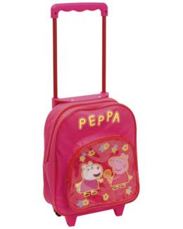 Trolley cartable à roulettes - Peppa Pig Le Cochon