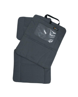 Double protection pour dossier de siège et écran