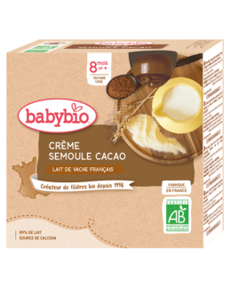 Crème Semoule - Cacao