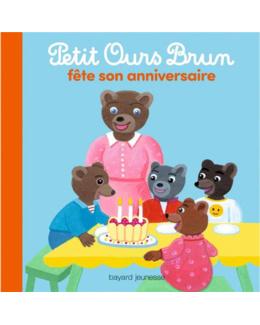 Livre Petit Ours Brun fête son anniversaire
