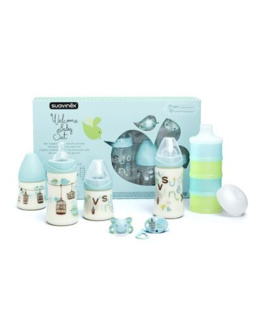 Pack Welcome Baby : 4 biberons + accessoires