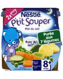 P'tit Souper - Purée du soir aux 7 Légumes