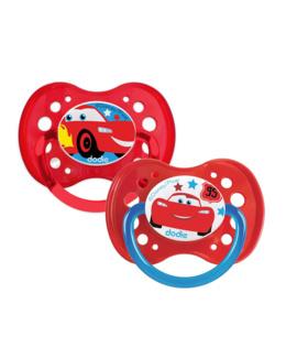 Sucette anatomique +18 mois DUO Disney Cars